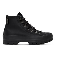 Converse Black Winter Chuck Taylor Lugged High Top Sneakers