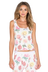 Wildfox Couture Merrow Edge Cami White
