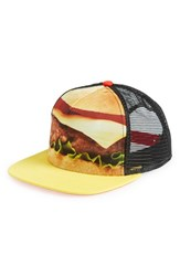 Men's Neff 'The Hawk Burger' Trucker Hat