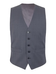 Pierre Cardin Blair Nail Head Regular Fit Vest Blue