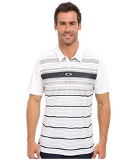Oakley Legacy Polo White Men's Short Sleeve Pullover