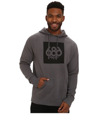 686 Knockout Pullover Hoodie Charcoal Men's Sweatshirt Gray