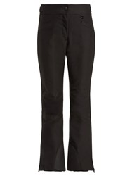 Moncler Flared Ski Trousers Black