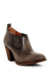 Frye Ilana Slip On Bootie Gray