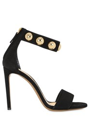 Alexandre Vauthier 100Mm Studded Suede Sandals