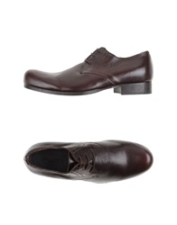 Collection Privee Collection Privee Lace Up Shoes Dark Brown