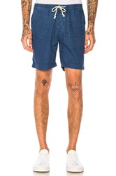 Deus Ex Machina Riley Denim Shorts Blue