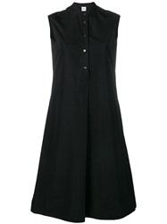 Aspesi Midi Shirt Dress Black