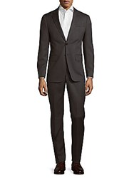 Todd Snyder Mayfair Slim Fit Textured Wool Suit Medium Grey