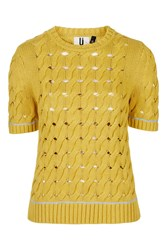 Cookham Knit Tee By Unique Mustard