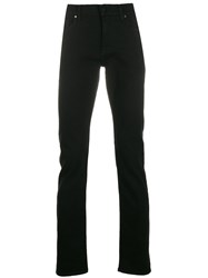 7 For All Mankind Ronnie Skinny Trousers Black