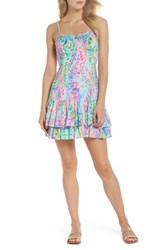 Lilly Pulitzer Morgana Sundress Multi Catch The Wave