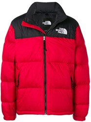The North Face Feather Down Jacket Red