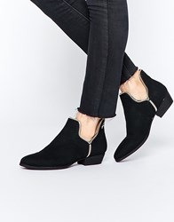 Truffle Collection Boni Cut Out Ankle Boots Black Mf
