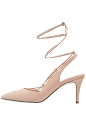 Dorothy Perkins Darcy High Heels Peach Nude