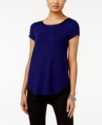 Alfani High Low T Shirt Only At Macy's Alf French Plum
