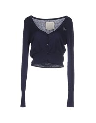 Atelier Fixdesign Knitwear Cardigans Women Dark Blue