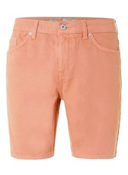 Topman Pink Slim Denim Shorts