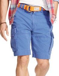 Polo Ralph Lauren Relaxed Fit Chino Cargo Shorts Blue