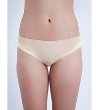 Implicite Neon Stretch Jersey Bikini Briefs Nude