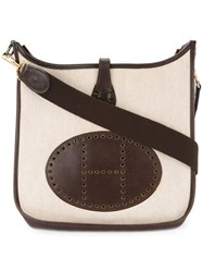 Hermes Vintage Evelyne Shoulder Bag Nude And Neutrals