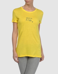 Generation Pacifique Short Sleeve T Shirts Yellow