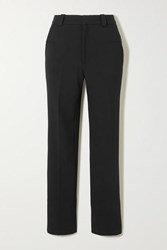 Roland Mouret Lacerta Stretch Crepe Slim Leg Pants Black