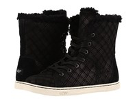 Ugg Croft Double Diamond Black Women's Lace Up Casual Shoes