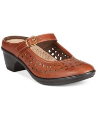 Easy Street Shoes Easy Street Chicago Clogs Women's Shoes Tan