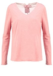 Cream Laura Long Sleeved Top Rosette Coral