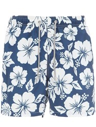 Mc2 Saint Barth Printed Gustavia Hawaii Tech Swim Shorts Array 0X5968d90