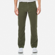 Garbstore Men's Patch Pocket Fatigue Pants Olive Green