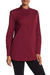 Lafayette 148 New York Desra Button Front Tunic Shiraz