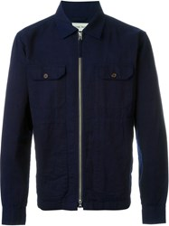 Universal Works 'Base' Jacket Blue