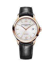 Baume And Mercier Clifton Automatic Watch 39Mm Silver
