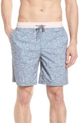 Imperial Motion Hayworth Mix Board Shorts Light Pink Blue
