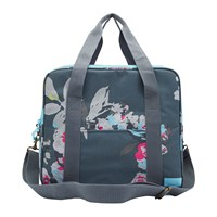 Joules Grey Floral Cool Bag