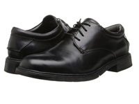 Nunn Bush Maury Plain Toe Oxford Lace Up Black Men's Shoes