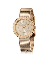 Just Cavalli Shiny Stainless Steel Women's Watch Rose Gold