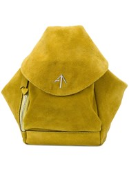Manu Atelier Fernweh Backpack Yellow And Orange