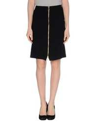 Tara Jarmon Knee Length Skirts Black