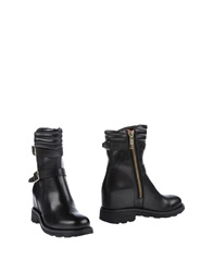 Bikkembergs Ankle Boots Black