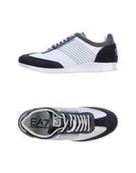 Emporio Armani Ea7 Low Tops And Trainers Dark Blue