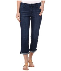 Liverpool Saguaro Michelle Capri Dark Blue Women's Capri