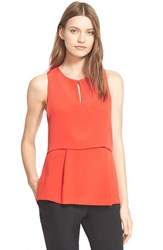 Women's Hunter Bell 'Nora' Layered Silk Tank Top
