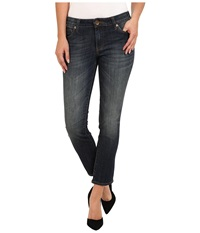 Kut From The Kloth Ankle Straight Leg In Encouraging Encouraging Women's Jeans Blue