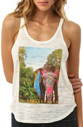 Junior Women's O'neill 'Painted Jungle' Graphic Racerback Tank
