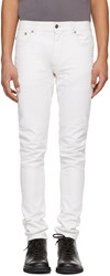 Belstaff Off White Tattenhal Jeans