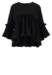 Sister Jane Night Drive Blouse Black