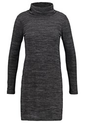 Wallis Jumper Grey Mottled Dark Grey